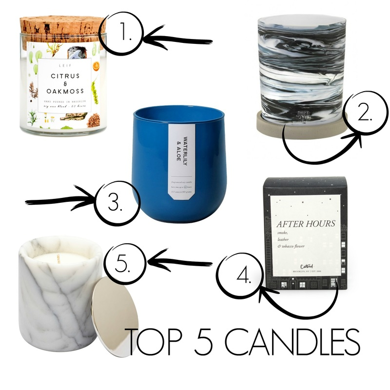 Top 5 Candles