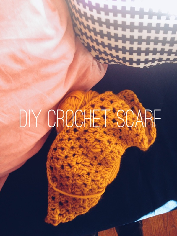DIY Crochet Scarf