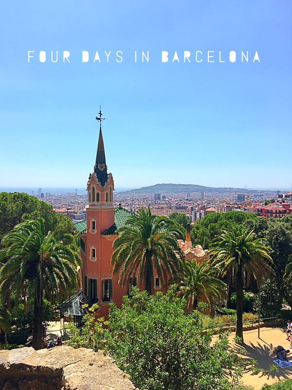 VOGUE INTUITION > Four Days in Barcelona