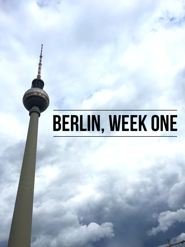 VOGUE INTUITION > Berlin, Week One
