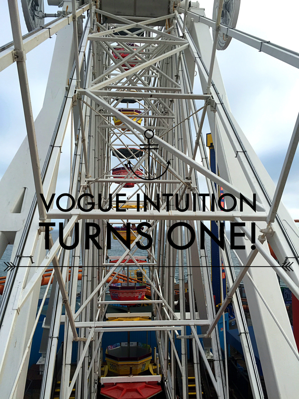 VOGUE INTUITION > Happy Birthday Vogue Intuition!
