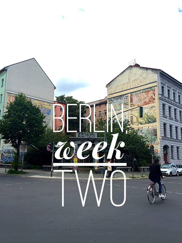 VOGUE INTUITION > Berlin, Week Two