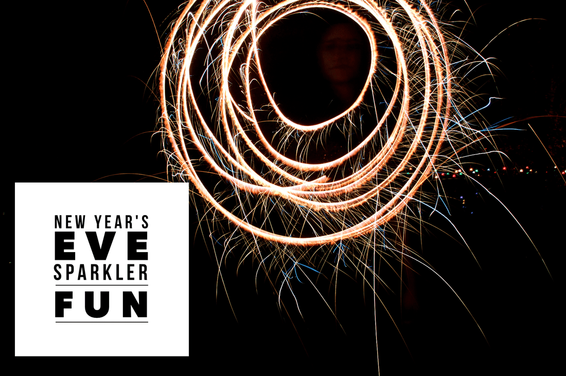 VOGUE INTUITION > New Year's Eve Sparkler Fun
