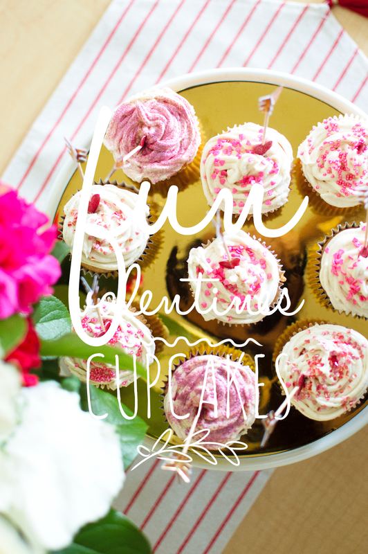 VOGUE INTUITION > Fun Valentines Cupcakes